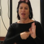 Roni Ben-Dor - sign language interpreter 1