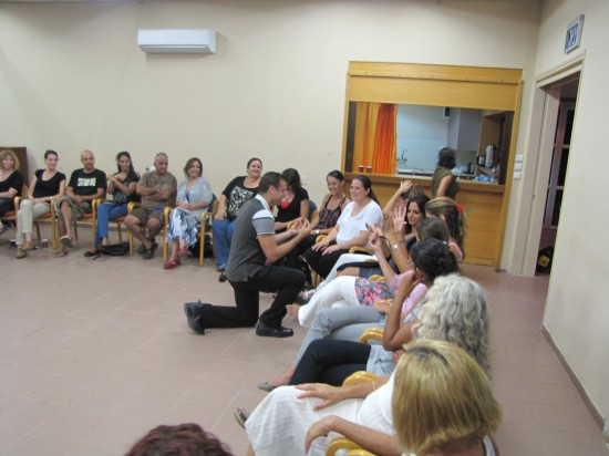 experiential lectures for  special educational teams in katzir 3