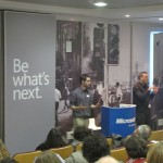 Accessibility Conference and lecture to the education system - at Microsoft