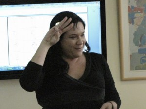 Sign language course in Social Security employees